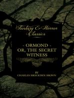 Ormond - Or, The Secret Witness