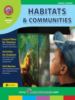 Habitats & Communities