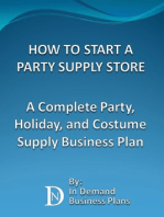 How To Start A Party Supply Store