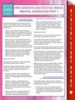 DSM-5 Diagnostic and Statistical Manual (Mental Disorders) Part 1