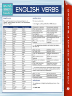 English Verbs (Speedy Study Guides)
