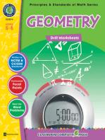 Geometry - Drill Sheets Gr. 6-8