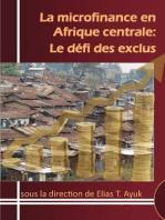 La microfinance en Afrique centrale