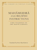 Mahamudra and Related Instructions: Core Teachings of the Kagyu Schools