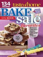 Taste of Home Bake Sale Favorites Mini Book