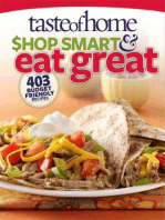 Taste of Home Shop Smart & Eat Great