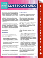 DSM-5 Pocket Guide (Speedy Study Guides)