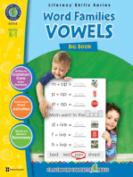Word Families - Vowels Big Book Gr. PK-2