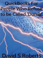 QuickBooks for People Who Refuse to be called 'Dumb'