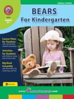 Bears For Kindergarten