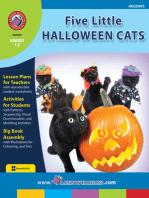 Five Little Halloween Cats
