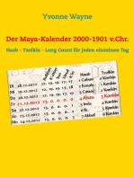 Der Maya-Kalender 2000-1901 v.Chr.
