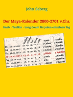 Der Maya-Kalender 2800-2701 v.Chr.