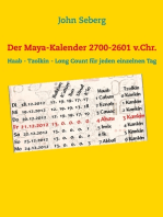 Der Maya-Kalender 2700-2601 v.Chr.