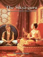 The Śikṣā-guru