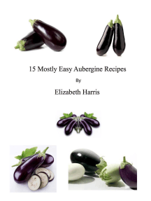 15 Mostly Easy Aubergine Recipes