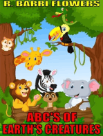 ABC'S of Earth's Creatures (A Children's Picture Book)