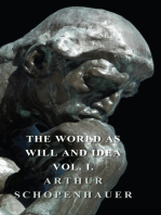 The World as Will and Idea - Vol. I.