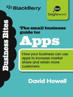 The Small Business Guide to Apps: How your business can use apps to increase market share and retain more customers