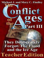 The Conflict of the Ages Teacher III They Deliberately Forgot The Flood and the Ice Age