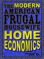 The Modern American Frugal Housewife Book #1