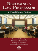 Becoming a Law Professor