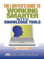 The Lawyer's Guide to Working Smarter with Knowledge Tools