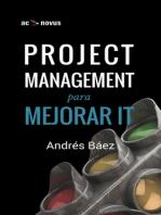 Project Management para mejorar IT