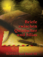 Briefe zwischen Quintscher und Silias