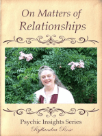 Psychic Insights On Matters of Relationships