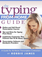 The Typing from Home Guide