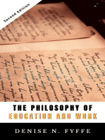 The Philosophy of Education and Work