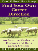 An Intuitive Method to Discover and Rank Career Options
