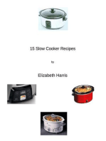 15 Slow Cooker Recipes