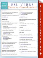 ESL Verbs (English as a Second Language) (Speedy Study Guides)