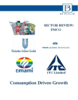 Study on Indian FMCG sector, size, players and growth drivers