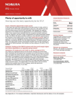 Report Study on Plenty of Opportunity to Milk
