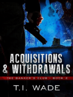 """The Banker's Club """"Acquisitions and Withdrawals"""" Book 2"""
