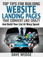 Top Tips For Building Landing Websites That Convert Like Crazy