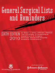 General Surgical Lists and Reminders