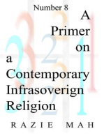 A Primer on a Contemporary Infrasovereign Religion