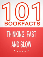Thinking, Fast and Slow - 101 Amazing Facts You Didn't Know (101BookFacts.com)