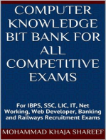 Computer Knowledge Bit Bank for All Competitive Exams