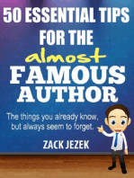 50 Essential Tips for the Almost Famous Author