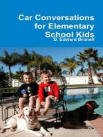 Car Conversations for Elementary School Kids