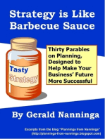 Strategy Is Like Barbecue Sauce