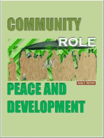 Community Role In Peace and Development