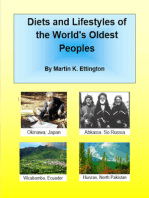 Diets and Lifestyles of the Worlds Oldest Peoples
