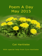 Poem A Day May 2015