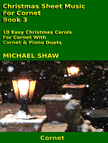 Christmas Sheet Music For Cornet: Book 3